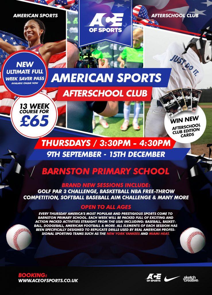 BARNSTON AFTERSCHOOL CLUBS